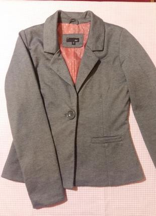 Стильный пиджак jbc для девочки 134-140 см