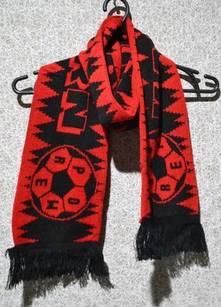 Брендовий шарф для любителів футболу kaiserslautern [великобританія]