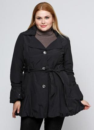 Большой размер 54-56-58 (20/22), непромокаемая куртка, тренч, плащ, ветровка, батал