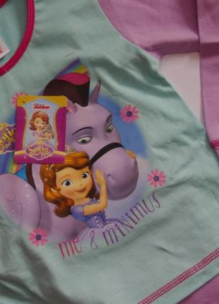 Пижама комплект  принцесса disney 18-24 мес до 98 см