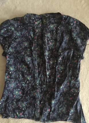 Рубашка h&m в отличном состоянии