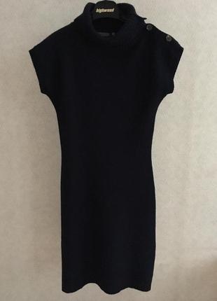 Montego шерстяное платье с коротким рукавом