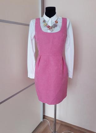 1+1=3  шикарное фактурное  платье сарафан