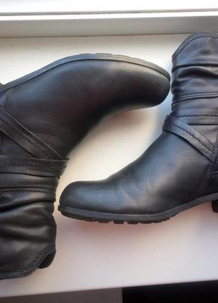 Демисезонные ботинки италия натуральная кожа!