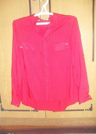 Блузка рубашка, рукав трансформер3 фото