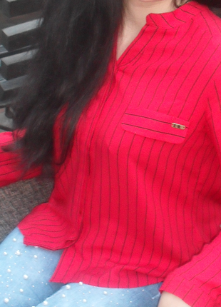Блузка рубашка, рукав трансформер