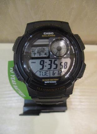 Мужские часы casio ae-1000w-1avcf оригинал