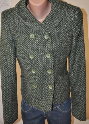 Пиджак жакет зеленый
