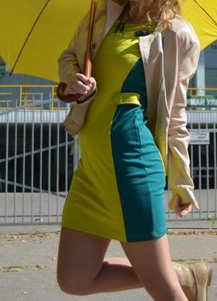 Зеленое платье kira plastinina