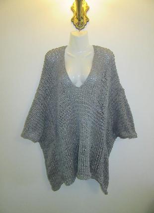Новый свитер zara коттон размер м