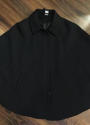 Пальто, пончо, накидка два размера xxs и l