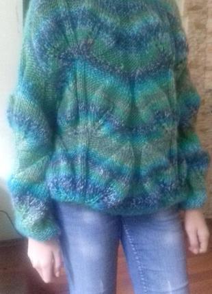 Шикарный свитер-оверсайз, тренд .