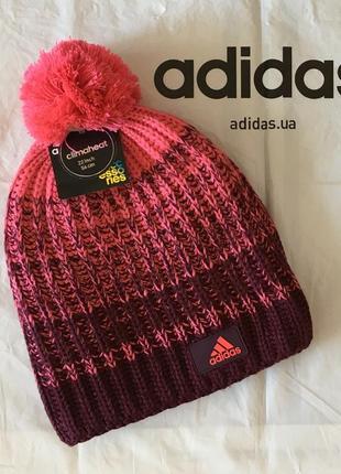 Новая теплая шапка adidas performance