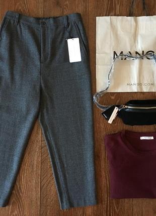 bbc89d62ad5 Белые джинсы брюки багги карго бойфренды с манжетами резинками zara ...