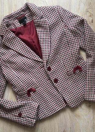Пиджак с шерстью h&m