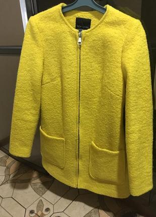 Брендовое пальто new look