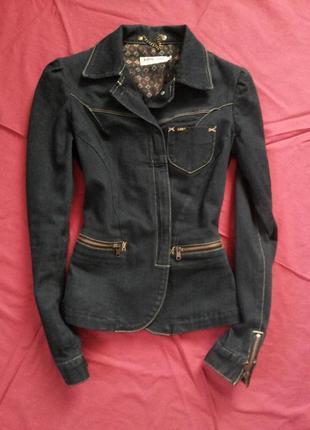 Джинсовая куртка пиджак lee