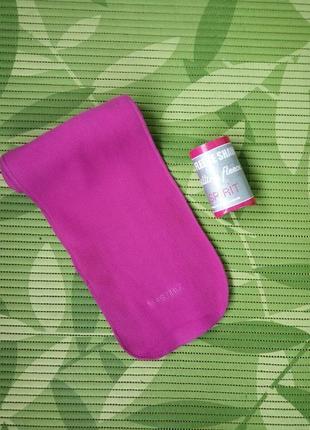 Розовый флисовый шарф true spirit 120/18