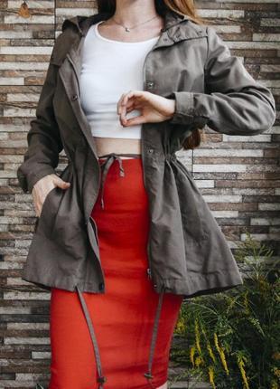 Стильная парка куртка vero moda размер 36