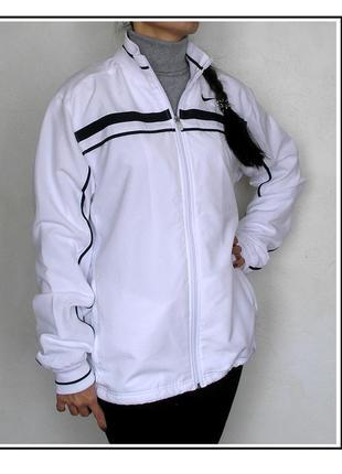 M - l, белоснежная ветровка куртка бомбер nike, оригинал, новая, доставка бесплатно