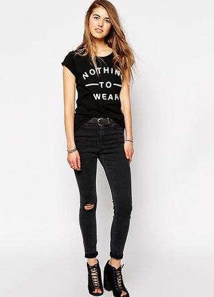 Стильная брендовая футболка new look