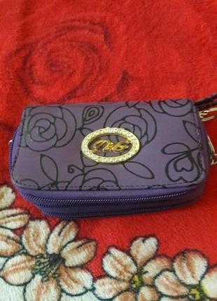 Жіночий гаманець на 3 змійки
