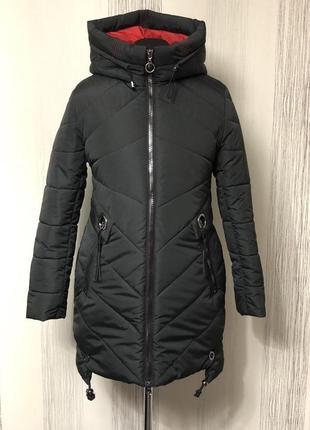 Красивая куртка,парка,пуховик.50-58 размеры..