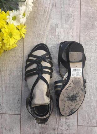 Босоножки сандалии кожа