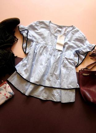Шикарная трендовая блуза zara