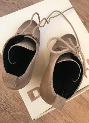 Ботильоны ботинки diesel
