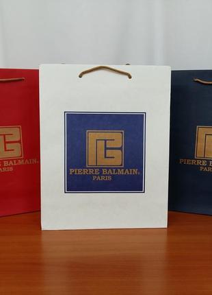 """Мужской, классический, брендовый шарф """"pierre balmain"""", 100% шерсть.4 фото"""