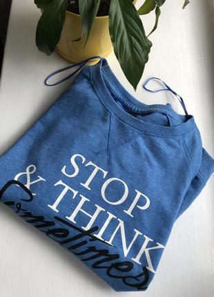Кофта свитер reserved xs голубая