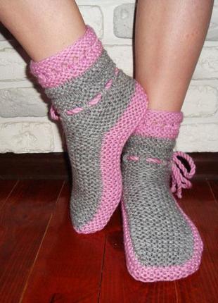 Домашние носки, тапочки