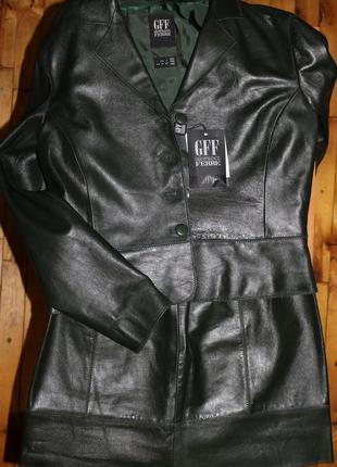 Потрясающий итальянский кожаный костюм от gff gianfranco ferre