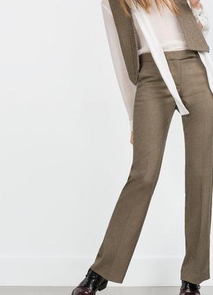 Классические брюки zara,p.m
