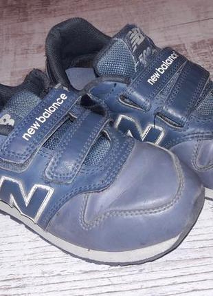 Кроссовки, ботинки new balance, стелька 21 см1 фото