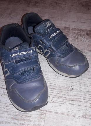 Кроссовки, ботинки new balance, стелька 21 см2 фото