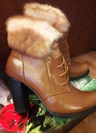 Классные ботинки зима