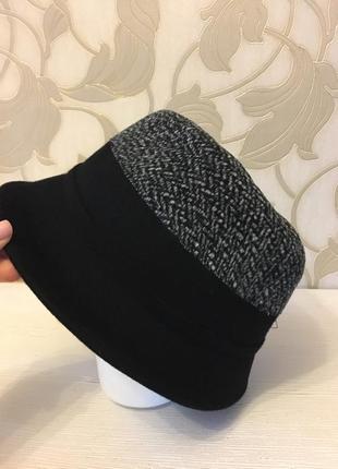Шляпка шлейф с бантом2 фото