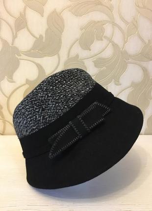 Шляпка шлейф с бантом3 фото