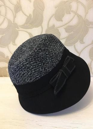 Шляпка шлейф с бантом4 фото
