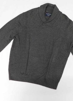 Натуральный мужской полувер, свитер c&a canda размер xxl