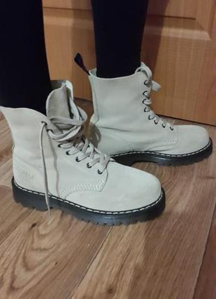 Ботинки alpha london, круче, чем timberland :)