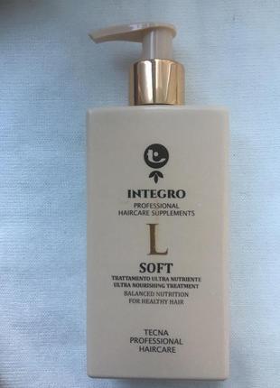 Маска для сухих и ломких волос tecna integro soft