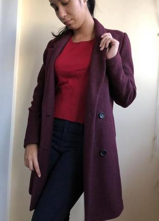Пальто pimkie 50% шерсти