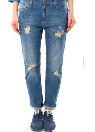 Крутые, рваные бойфренды, джинсы, новые с биркой, много вещей в наличии+скидки, заходите!