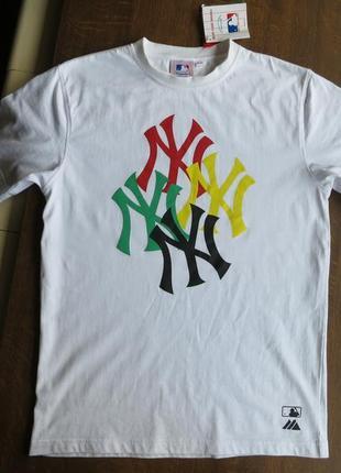 Мужская футболка majestic athletic new york yankees tee