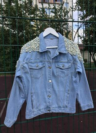 Оверсайз джинсовка 💎1 фото