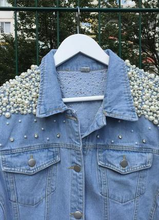 Оверсайз джинсовка 💎3 фото
