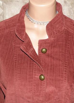Вельветовый пиджак-куртка на высокую р.l-xl